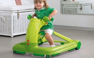 Детские ходунки — с какого возраста можно использовать?