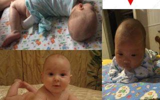 Как научить малыша держать голову — советы и видео для родителей