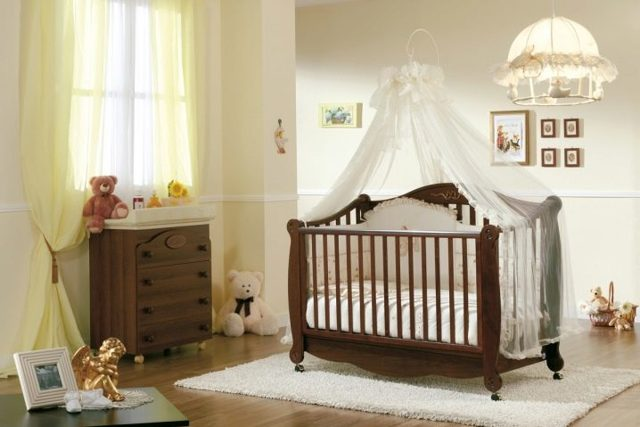 Как выбрать кроватку для новорожденного