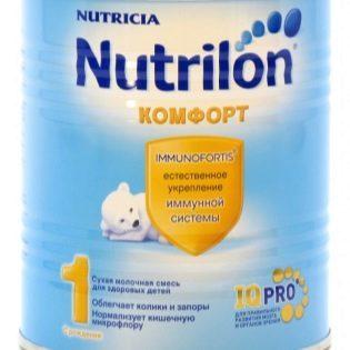 Детские молочные смеси без пальмового масла: список
