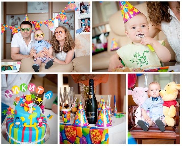Как отметить первый день рождения ребенка дома