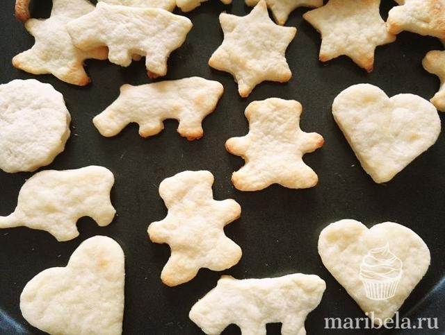 Рецепты печенья для детей: творожное, песочное, бисквитное