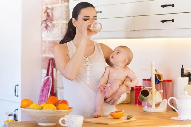 Как похудеть при грудном вскармливании: диета для кормящих мам, упражнения