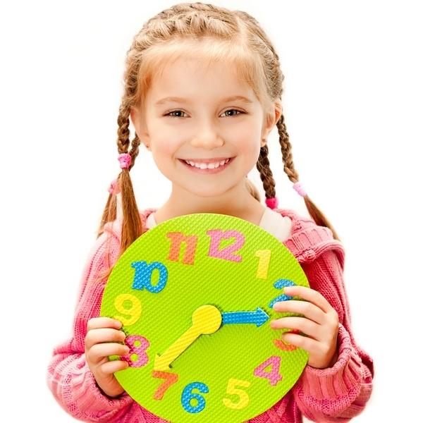 Учим ребенка понимать время по часам