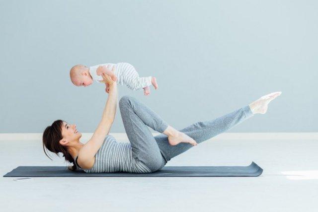 Можно ли заниматься при грудном вскармливании спортом, фитнесом
