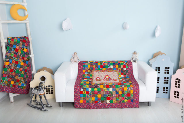 Размеры детского одеяла для новорожденных в кроватку