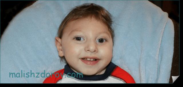 Окружность головы ребенка по месяцам - таблица