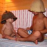 С какого возраста ребенку можно в баню, сауну