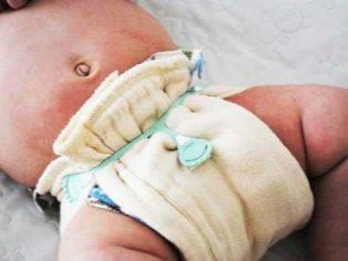 Как сделать марлевый подгузник для новорожденного