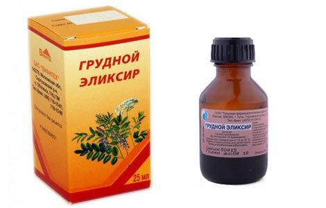 Эликсир грудной от кашля: описание и состав препарата, правила применения