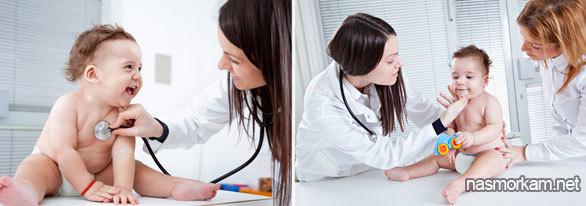 Как убрать и высосать сопли у грудничка безболезненно