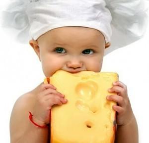 Когда можно давать сыр ребенку, с какого возраста
