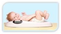 Прибавка в росте и весе по месяцам у новорожденных: таблица