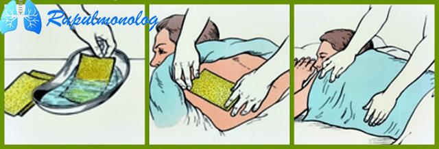 Как правильно ставить горчичники при кашле детям