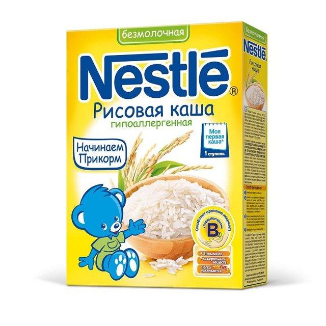 Рисовая каша для грудничка - как правильно сварить. Рисовые каши ФрутоНяня и Нестле.